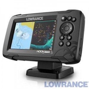 Эхолот-плоттер LOWRANCE HOOK REVEAL 5 83/200 HDI ROW