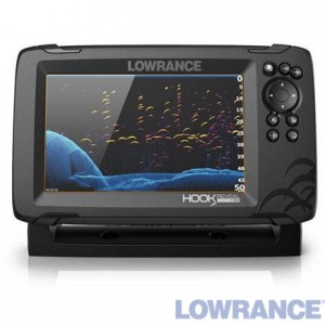 Эхолот-плоттер LOWRANCE HOOK REVEAL 7 83/200 HDI ROW
