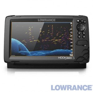 Эхолот-плоттер LOWRANCE HOOK REVEAL 9 TRIPLESHOT ROW