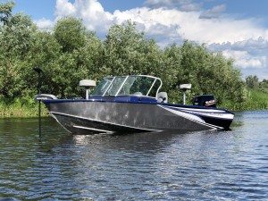 "Моторная лодка ""WINDBOAT 4.6DC EVO Fish"""